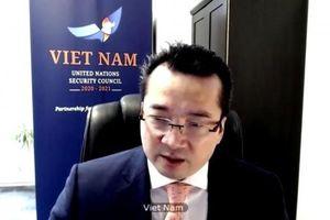 Việt Nam ủng hộ vai trò trung gian của Liên hợp quốc cho tiến trình hòa bình Trung Đông