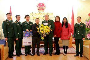 Các cơ quan, đơn vị chúc mừng Bộ Tư lệnh BĐBP nhân kỷ niệm 76 năm Ngày Thành lập Quân đội nhân dân Việt Nam