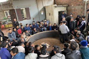 100 chiến sĩ công an vây bắt sới gà liên tỉnh