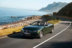 BMW 4-Series Convertible 2021 ra mắt có giá từ 68.400 USD