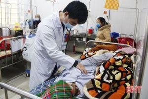 Rét đậm, người cao tuổi, trẻ nhỏ ở Hà Tĩnh nhập viện gia tăng