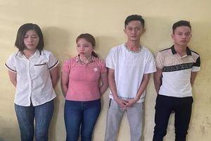 Tạm giữ 4 kẻ mua bán thiếu nữ làm nhân viên phục vụ quán karaoke