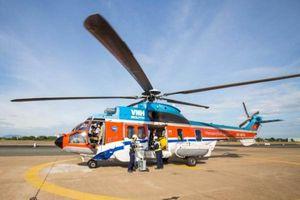 Trực thăng tìm kiếm 2 nhân viên hải đăng Hòn Hải mất tích