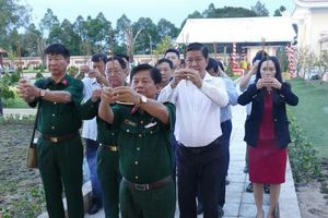 Phó Thủ tướng Trương Hòa Bình dự Lễ Khánh thành Đền thờ liệt sỹ - Di tích lịch sử quốc gia Khu vực Đồn Long Khốt