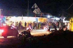 Mô tô đâm rào chắn nhà có tang, 1 người tử vong ở Quảng Trị