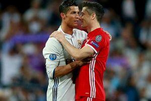 Lewandowski: 'Chỉ Messi chung mâm với Ronaldo'