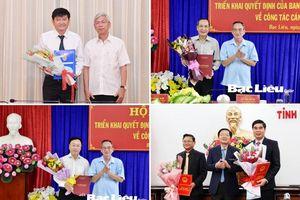 Bổ nhiệm nhân sự mới tại TP.HCM, Bạc Liêu, Bình Định