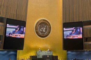Lần đầu tiên, Đại hội đồng Liên hợp quốc thông qua một Nghị quyết do Việt Nam trình