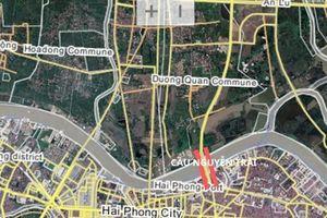 Hải Phòng: Chuẩn bị xây cầu hơn 5.300 tỷ đồng bắc qua sông Cấm