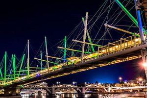 Vẻ đẹp nổi bật của những cây cầu dường như dẫn đến một thế giới khác