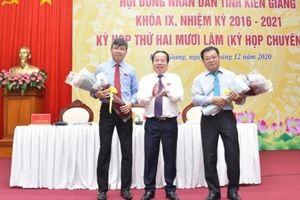 Giám đốc Sở Tài chính giữ chức Phó Chủ tịch UBND tỉnh Kiên Giang