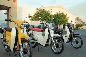 Xe điện giá rẻ giống hệt Honda Cub