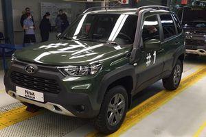 Ngắm 'la già' Lada Niva Travel 2021 sang chảnh như Toyota RAV4