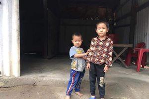 Hà Tĩnh: Trao hơn 22 triệu đồng cho 2 bé thơ vừa mất mẹ