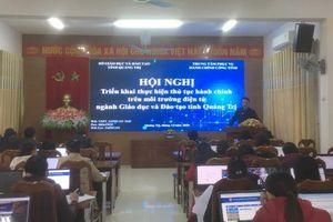 Quảng Trị: Tập huấn thực hiện thủ tục hành chính trên môi trường điện tử