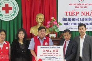 Người Việt tại Mỹ hỗ trợ tỉnh Phú Yên khắc phục hậu quả bão lũ