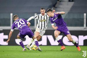 Ronaldo 'tịt ngòi', Juventus thua thảm Fiorentina