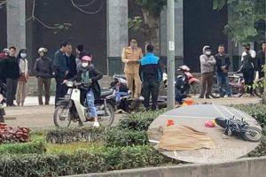 Người phụ nữ đâm xe máy vào gốc cây tử vong