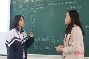 Hà Tĩnh đổi mới, kích thích dạy học tiếng Anh