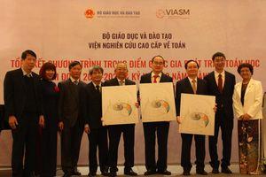Tiếp tục xây dựng 'hệ sinh thái' Toán học Việt Nam