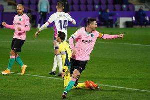 Valladolid 0-3 Barca: Messi ghi bàn và kiến tạo