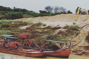 Đắk Lắk: Cơ quan chức năng trả lời việc công ty Hà Bình khai thác cát gây sạt lở đất canh tác