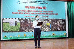 An Giang tổng kết công tác khuyến nông phục vụ phát triển tái cơ cấu nông nghiệp