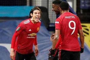 Man Utd vào bán kết Cúp Liên đoàn