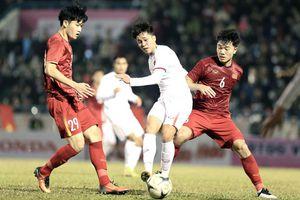 Tuyển Việt Nam thắng ngược đội U22 Quốc gia