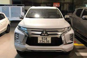 Mitsubishi Pajero Sport biển '234.56' hét giá 6,5 tỷ ở Bình Phước