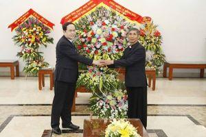 Ông Trần Thanh Mẫn chúc mừng Giáng sinh Giáo phận Phát Diệm