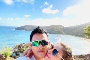 Ca sĩ Thanh Thảo tạm biệt Hawaii để về đất liền đón Giáng sinh