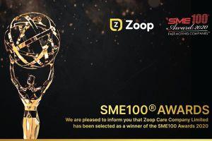 Nền tảng số Zoop Care nhận giải thưởng SME100