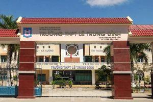 Quảng Ngãi: Phát hiện nhiều sai phạm tại một trường THPT