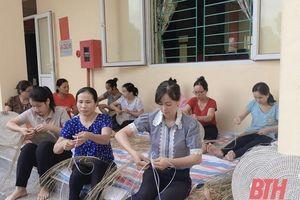 Đẩy mạnh dạy nghề, tạo việc làm cho phụ nữ nông thôn ở huyện Triệu Sơn
