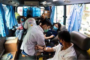 Chùa Vạn Đức tổ chức hiến máu nhân đạo