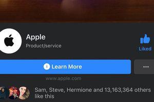Chuyện Facebook gỡ 'tick xanh' fanpage của Apple: Thực chất Apple chưa từng có tick xanh!