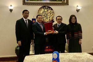 Ủy ban ASEAN tại Moscow họp tổng kết năm 2020, bàn giao chức Chủ tịch cho Brunei