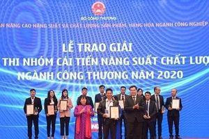 PINACO chiến thắng giải nhất Cuộc thi 'Nhóm cải tiến năng suất chất lượng' ngành Công Thương 2020