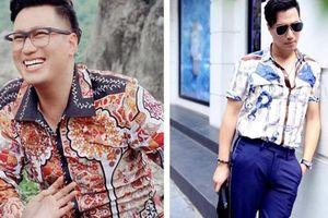 Việt Anh gây khó hiểu khi mặc màu mè trong Hướng dương ngược nắng