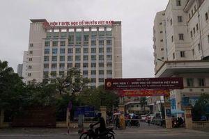 Những lình xình tại Học viện Y dược cổ truyền Việt Nam đang được làm rõ