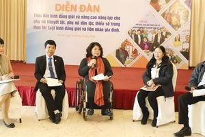 Trợ giúp pháp lý cho phụ nữ khuyết tật để ngăn chặn bạo lực gia đình