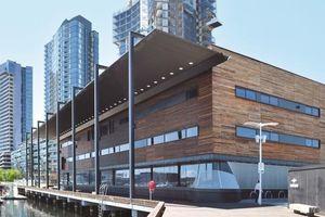 The Library At The Dock - Thư viện kiểu mới