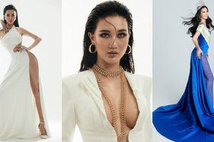 Đại diện Việt Nam tham dự Miss Global 2021 khoe hình thể chuẩn từng centimet trong các thiết kế dạ hội