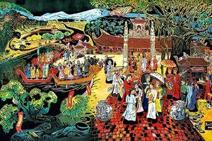 Họa sĩ Trần Văn Bình: Một hồn quê hồn hậu
