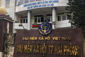 Cách chức giám đốc BHXH ở Hải Phòng