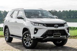Giá xe ô tô hôm nay 26/12: Toyota Fortuner dao động từ 995 - 1.426 triệu đồng