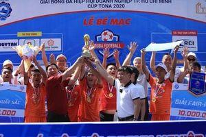 CLB Đạt Vĩnh Tiến vô địch Giải Bóng đá Hiệp hội Doanh nghiệp TP HCM 2020
