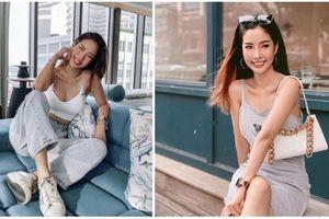 Gu thời trang bốc lửa của mỹ nhân cặp với chồng cũ Châu Tấn