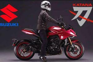 Suzuki ra mắt 'kiếm Nhật' Katana đặc biệt, từ 356 triệu đồng